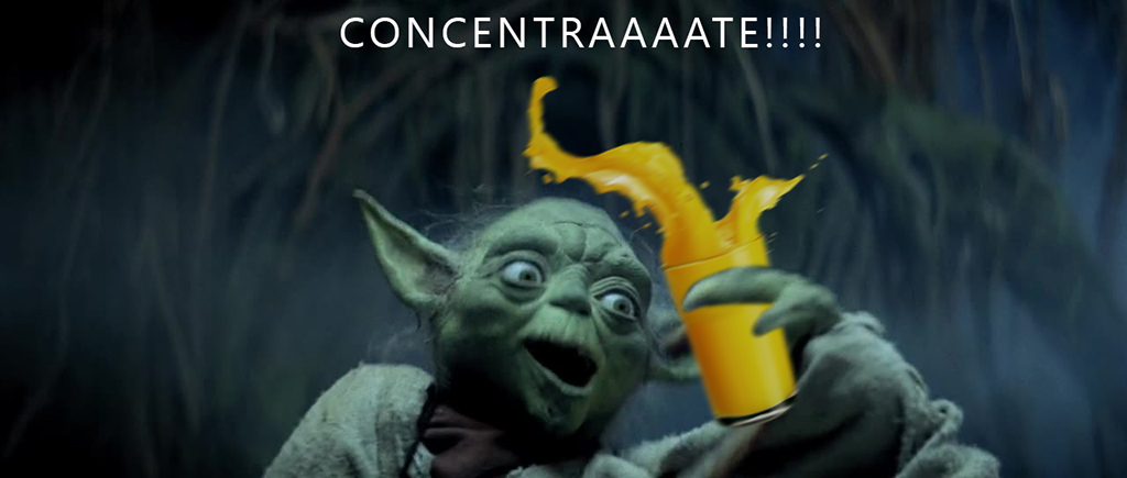 yoda orange juice concentrate