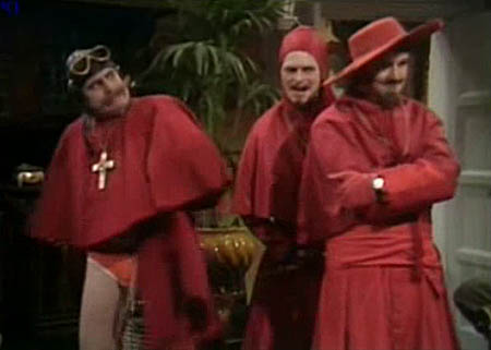 Spanish inquisition monty python comfy chair the spanish inquisition